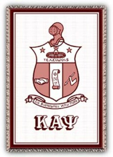 Kappa Alpha Psi Afghans Blanket Throw