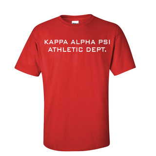 Kappa Alpha Psi Ath. Dept. Tee