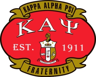 Kappa Alpha Psi Banner Crest - Shield Decal