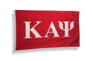 Kappa Alpha Psi Big Greek Letter Flag