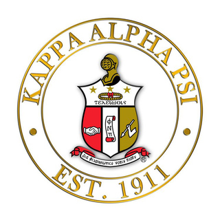 Kappa Alpha Psi Circle Crest - Shield Decal