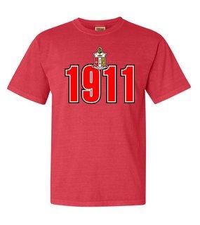 Kappa Alpha Psi Comfort Colors Heavyweight Established T-Shirt