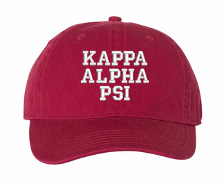 Kappa Alpha Psi Comfort Colors Pigment Dyed Baseball Cap