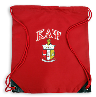 Kappa Alpha Psi Crest - Shield Cinch Sack