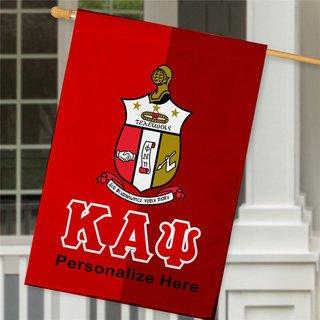 Kappa Alpha Psi Crest House Flag