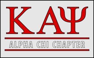 Kappa Alpha Psi Custom Line Sticker Decal