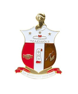 Kappa Alpha Psi Die Cut Car Badges
