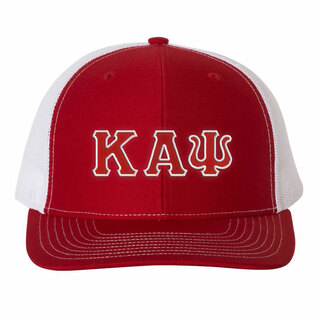 Kappa Alpha Psi Double Greek Trucker Cap