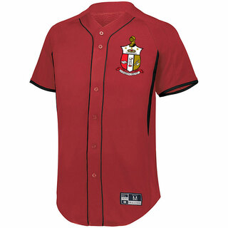 Kappa Alpha Psi Game 7 Full-Button Baseball Jersey