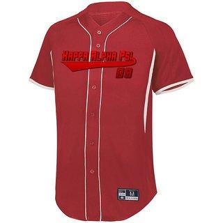 Kappa Alpha Psi Game 7 Full-Button Baseball Jersey