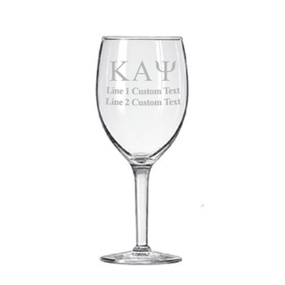 Kappa Alpha Psi Goblet (2 to a Set)