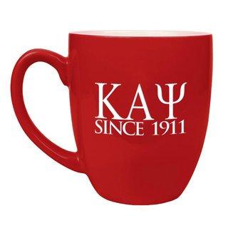 Kappa Alpha Psi Greek Bistro Mug