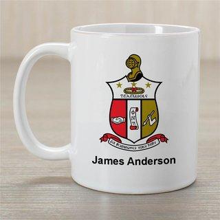 Kappa Alpha Psi Greek Crest Coffee Mug - Personalized!