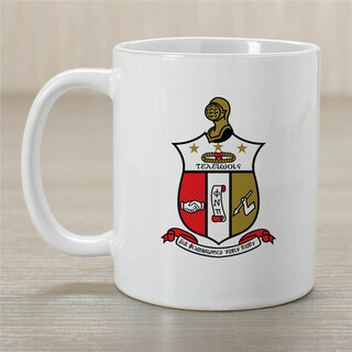 Kappa Alpha Psi Greek Crest Coffee Mug