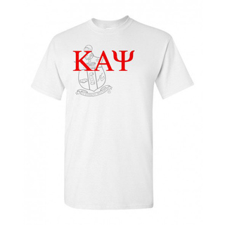 Kappa Alpha Psi Greek Crest - Shield T-Shirt