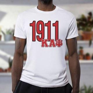 Kappa Alpha Psi Greek Established Year Tee