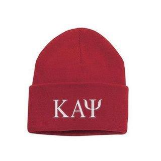 Kappa Alpha Psi Greek Letter Knit Cap