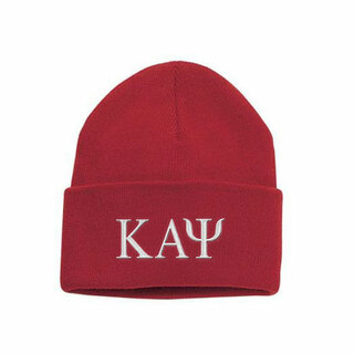 Kappa Alpha Psi Greek Letter Knit Cap