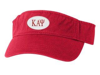 Kappa Alpha Psi Greek Oval Heavy Visor