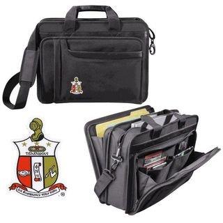 DISCOUNT-Kappa Alpha Psi Crest - Shield Briefcase Attache