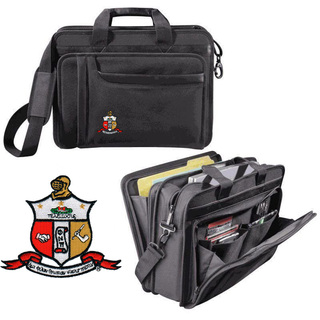 DISCOUNT-Kappa Alpha Psi Crest - Shield Briefcase Attache