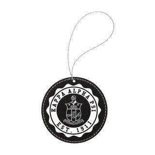 Kappa Alpha Psi Leatherette Crest Holiday Ornament