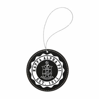 Kappa Alpha Psi Leatherette Crest Holiday Ornament