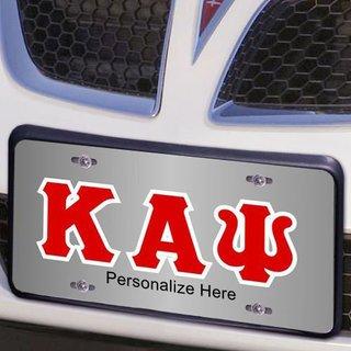 Kappa Alpha Psi Lettered License Cover