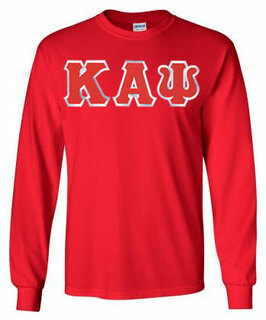 Kappa Alpha Psi Lettered Long Sleeve Shirt