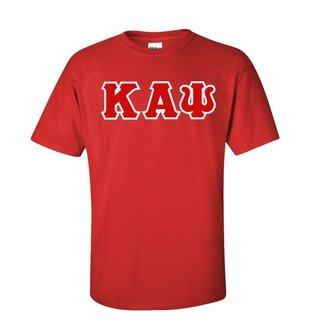 Kappa Alpha Psi Sewn Lettered T-Shirt