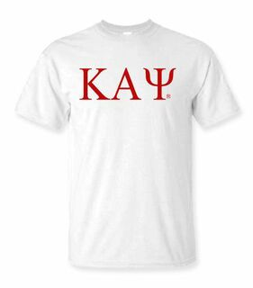 Kappa Alpha Psi Lettered Tee - $14.95!
