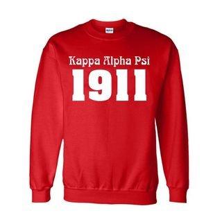 Kappa Alpha Psi Logo Crewneck Sweatshirt