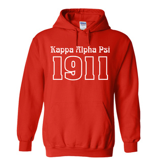 Kappa Alpha Psi Logo Hooded Sweatshirt