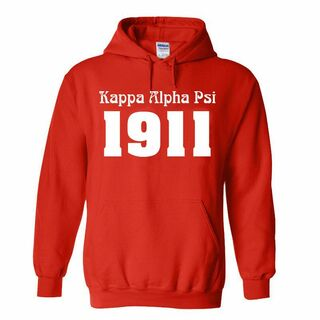 Kappa Alpha Psi Logo Hooded Sweatshirt