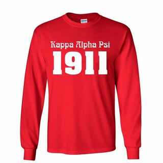Kappa Alpha Psi Logo Long Sleeve Tee