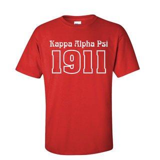 Kappa Alpha Psi Logo Short Sleeve Tee