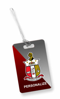 Kappa Alpha Psi Luggage Tag