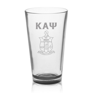 Kappa Alpha Psi Mixing Glass
