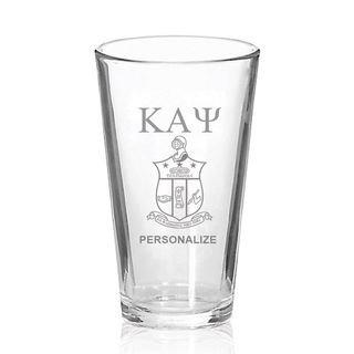 Kappa Alpha Psi Mixing Glass