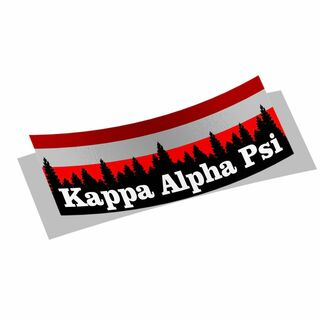 Kappa Alpha Psi Mountain Decal Sticker