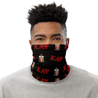Kappa Alpha Psi Neck Gaiter- Black & Red