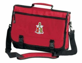 Kappa Alpha Psi Emblem Briefcase