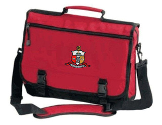DISCOUNT-Kappa Alpha Psi Emblem Briefcase