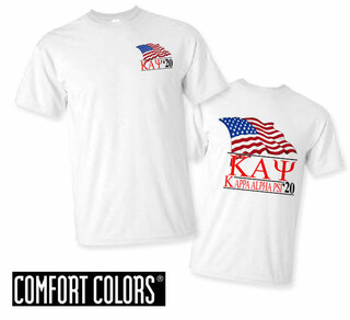 Kappa Alpha Psi Patriot  Limited Edition Tee - Comfort Colors