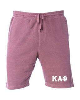 Kappa Alpha Psi Pigment-Dyed Fleece Shorts