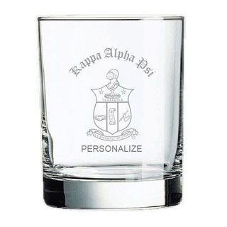 Kappa Alpha Psi Old Style Glass