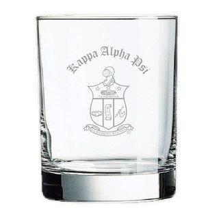 Kappa Alpha Psi Rocks Glass - Rush Production