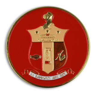 Kappa Alpha Psi Round Car Badges
