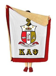 Kappa Alpha Psi Sherpa Lap Blanket