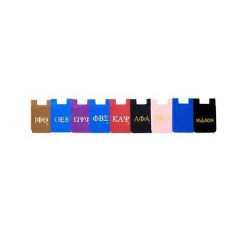 Kappa Alpha Psi Silicone Card Holders